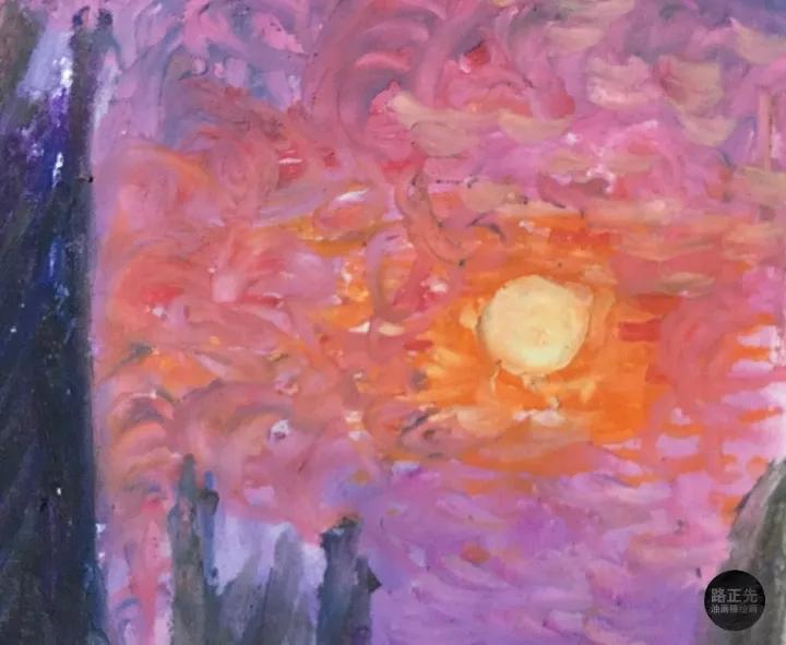 颠覆传统的油画棒作画形式,鼓励临摹艺术大师作品,提出油画棒绘画口号